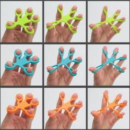 Exercice de traction de la main